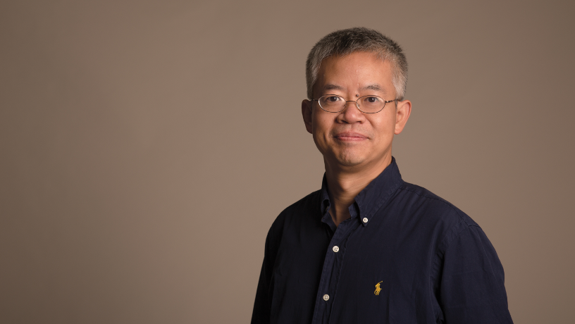Portrait of Prof. Qiang Du.