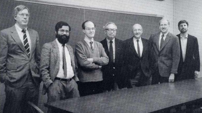 APAM Faculty Photo 1993