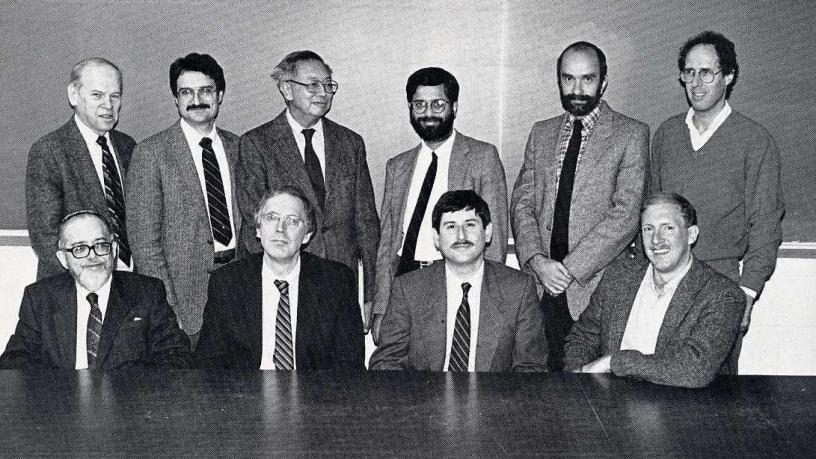 APAM Faculty Photo 1989